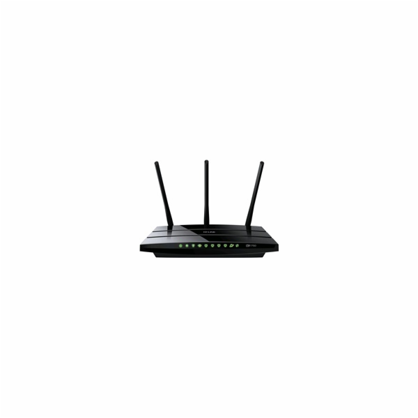 TP-LINK Archer C7 Wireless AC1750 Dual Band Gigabit Router, 1750Mb, 1xWAN & 4xLAN Gigabit, 2x USB2.0 , 3 odním.antény