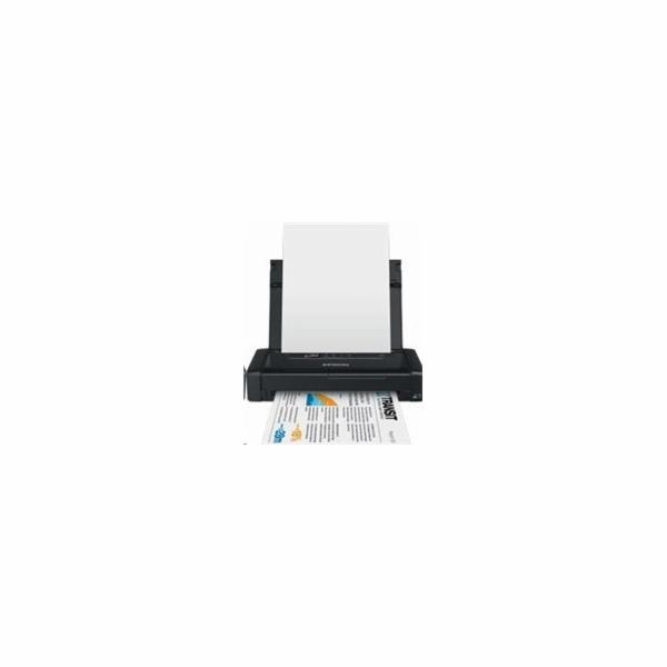 EPSON přenosná tiskárna ink WorkForce WF-100W MFZ, A4,, USB, WIFI,BT,vestavěný akumulátor
