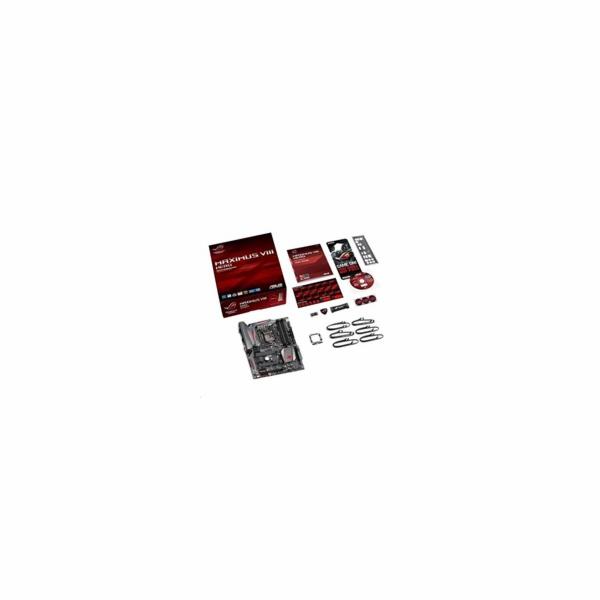 ASUS MAXIMUS VIII HERO, s.1151, Z170, 4xDDR4, PCIe 3.0x16, SATAIII, M.2, HDMI/DP, GLAN, USB3.1, ATX