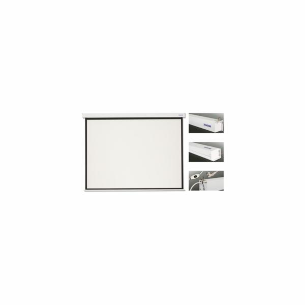 SES N305W projekční plátno el Sencor