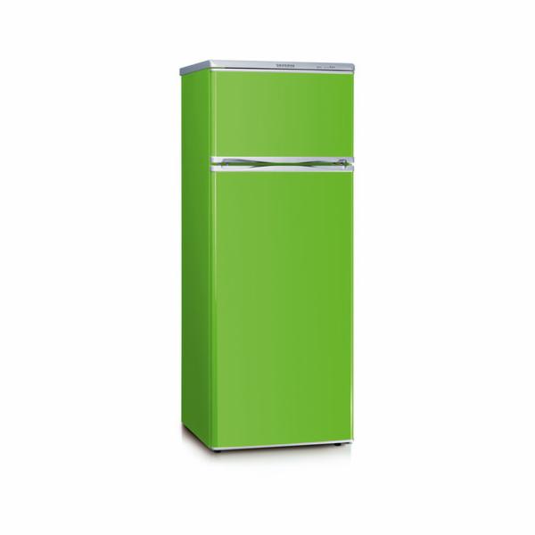 KS 9796 kombi. chladnička 166+46l zelená