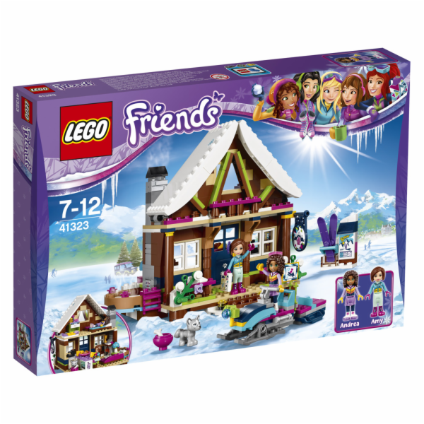 LEGO Friends 41323 Snow Resort Chalet
