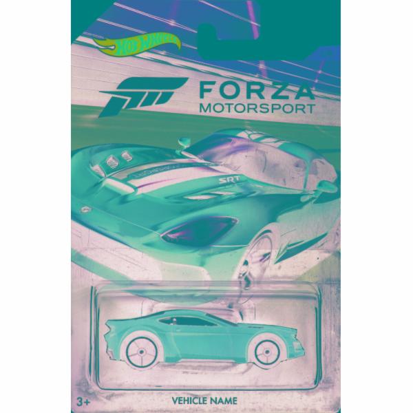 Hot Wheels tématické auto - Forza racing