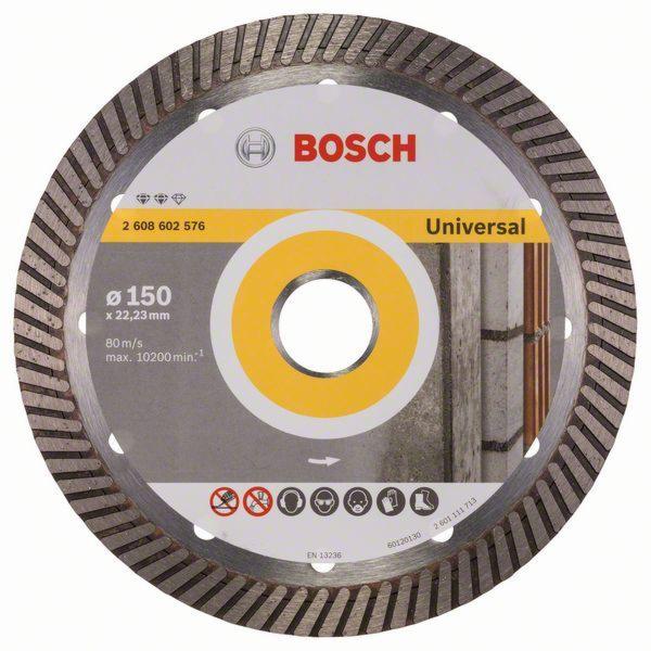 Diamantový dělicí kotouč Expert for Universal Turbo - 150 x 22,23 x 2,2 x 12 mm - 31651405 BOSCH