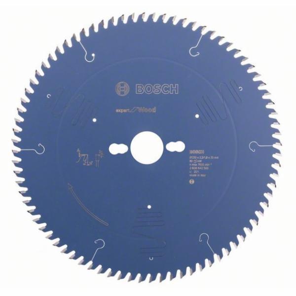 Pilový kotouč Expert for Wood - 250 x 30 x 2,5 mm, 80 - 3165140648257 BOSCH