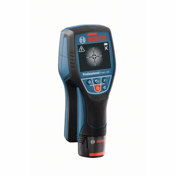 Detektor Bosch Wallscanner D-tect 120 Professional - bez baterie, 0601081300