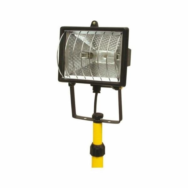 Lampa halogenová na stojanu, 500 W, TOYA