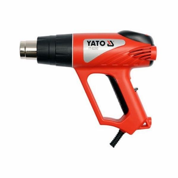 Pistole horkovzdušná s plynulou regulací teploty, 2000 W, YATO