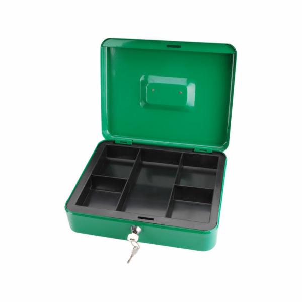 Schránka na peníze přenosná s pořadačem, 300x240x90mm, 2 klíče, EXTOL CRAFT