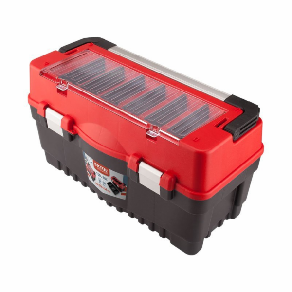 Kufr na nářadí CARBO vel. L, 595x289x328mm, EXTOL PREMIUM