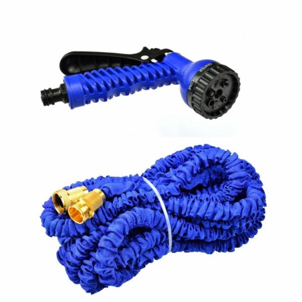 Zahradní hadice smršťovací, 5m-15m, 7 funkcí, dvojitý pletenec, GEKO