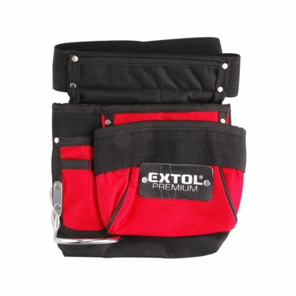 Pás na nářadí, 3 kapsy (1 velká, 1 střední, 1 malá), nylon, EXTOL PREMIUM