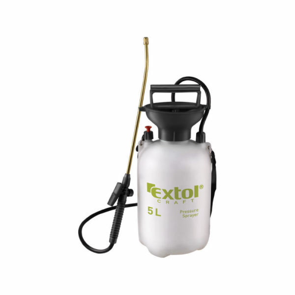 Postřikovač tlakový zahradní, 5l, EXTOL CRAFT