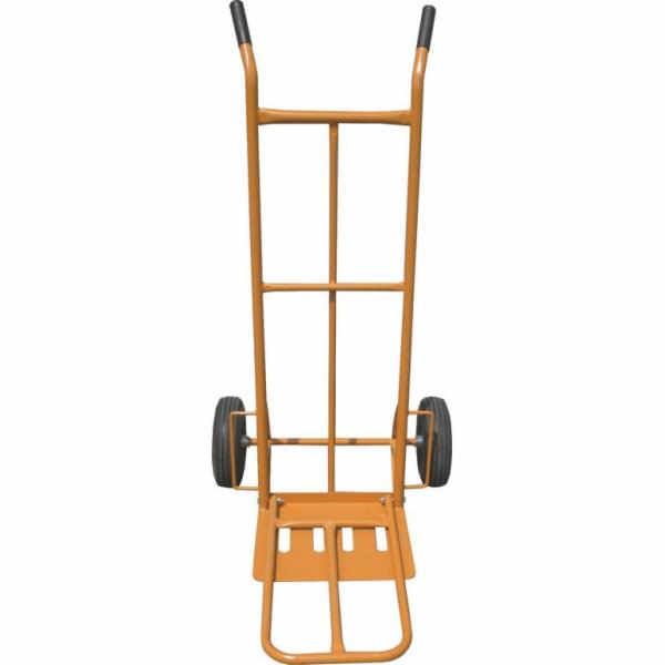 Ruční vozík-rudl, nosnost 250kg 400x300mm, oranžový, GEKO