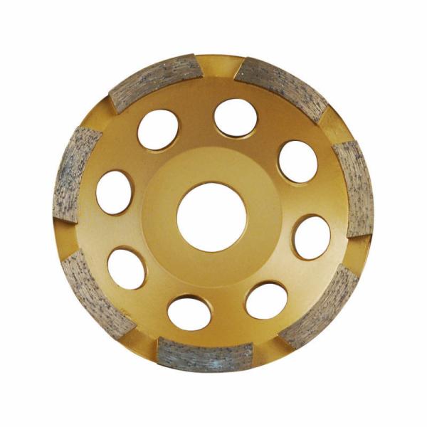 Kotouč diamantový brusný jednořadý, 115x22,2mm, EXTOL PREMIUM