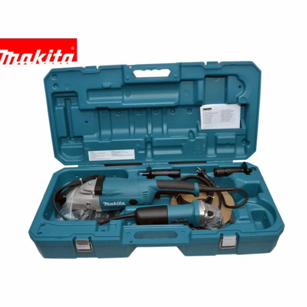 Sada úhlových brusek 230 + 125mm, kufr, Makita DK0053G