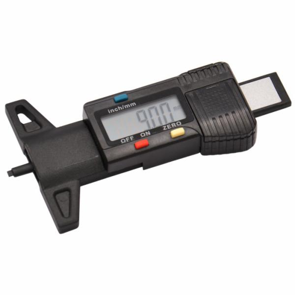 Digitální měřič hloubky profilu pneumatik Genborx DTDG