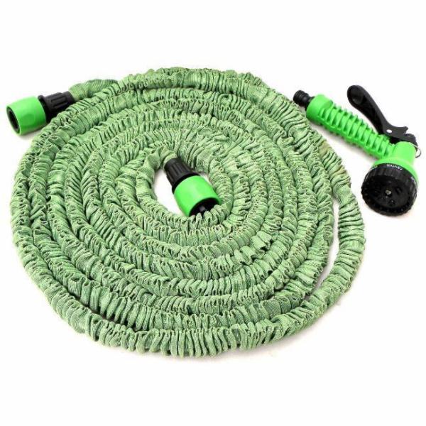 GEKO Zahradní hadice smršťovací, 5m-15m,7 funkcí