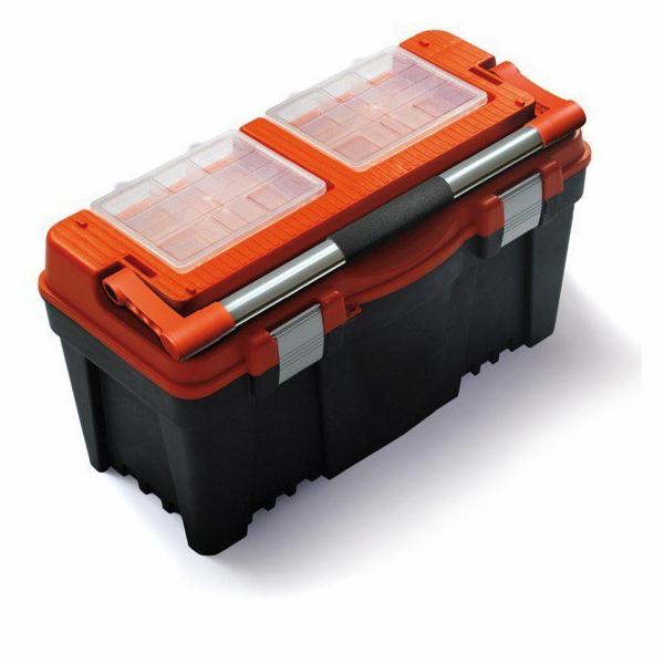 """Plastový box na nářadí 23,5"""", nosnost 27 kg, PRACTIC SIXTOL"""