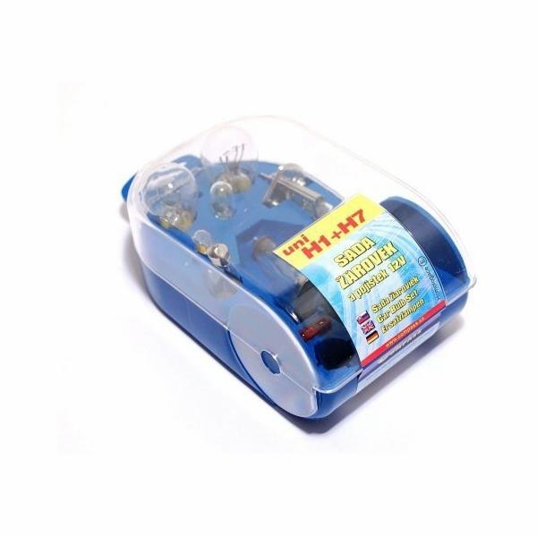 Žárovky servisní box univerzální H7+H1 COMPASS