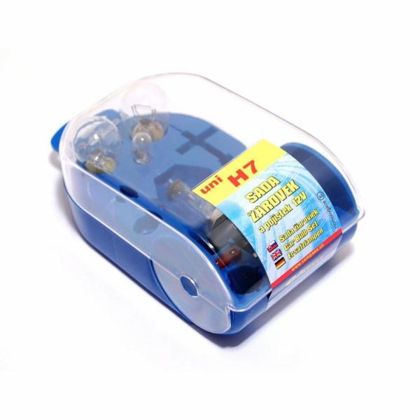 Žárovky servisní box univerzální H7 COMPASS