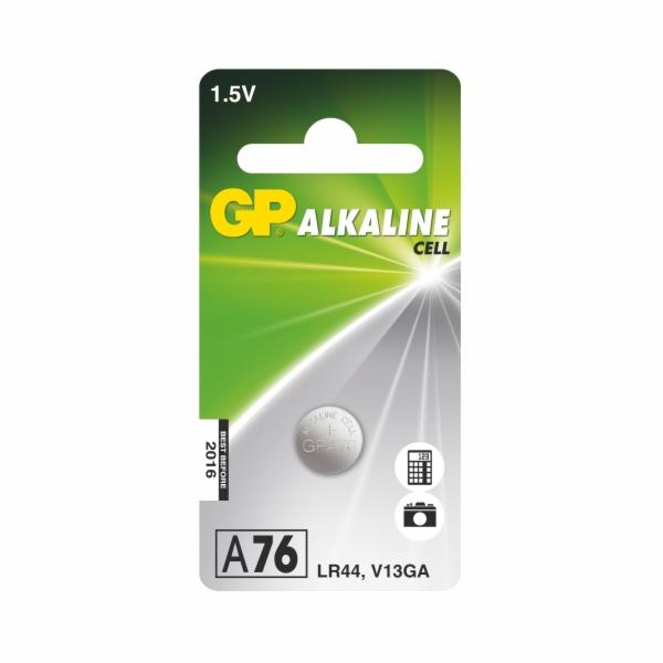 GP LR44 (A76, 11.6 x 5.4 mm) - 1 ks