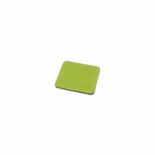 Ednet. - Podložka pod myš ( Zelená ), 3mm, polyester +EVA pěna 1kus