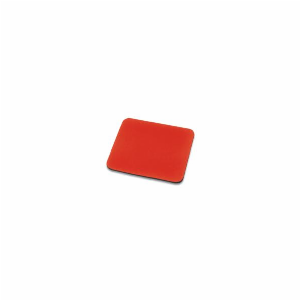 Ednet. - Podložka pod myš ( Červená ), 3mm, polyester +EVA pěna 1kus