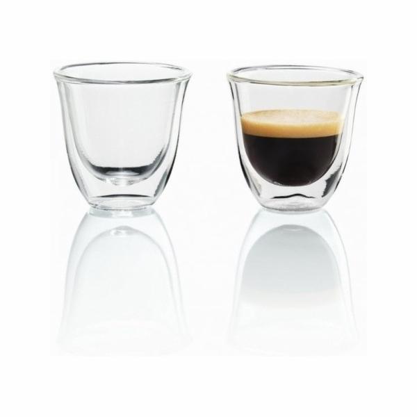 DE LONGHI Espresso skleničky