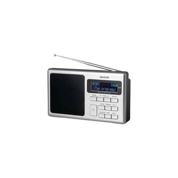 SRD 6400 DAB+ DAB / FM RÁDIO SENCOR