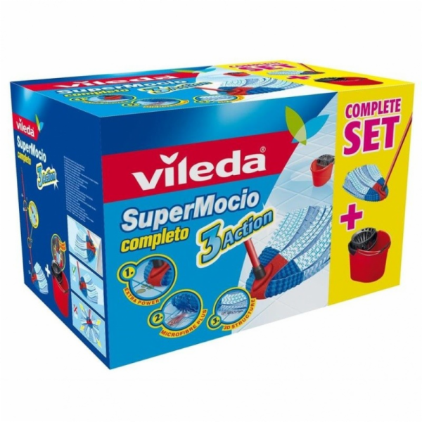 Vileda SuperMocio Completo 3 Action BOX 137413