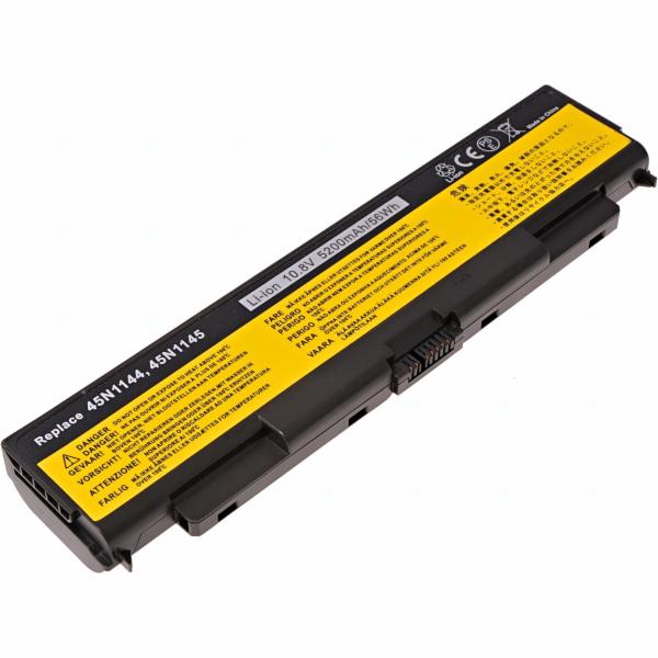 Baterie T6 power Lenovo ThinkPad T440p, T540p, W540, L440, L540 serie, 5200mAh, 56Wh, 6cell