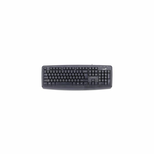 KB-110X klávesnice USB black GENIUS