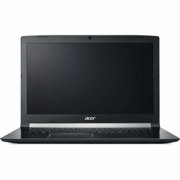 """Acer Aspire 7 (A717-71G-56W7) i5-7300HQ/8GB+N/128GB SSD M.2+1TB/GTX 1050Ti 4GB/17.3"""" FHD IPS matný/BT/W10 Home/Black"""