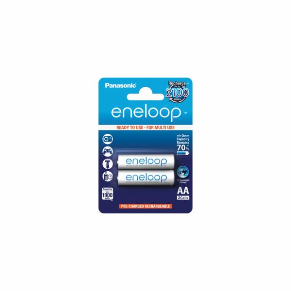 1x2 Panasonic Eneloop Mignon AA 1900 mAh