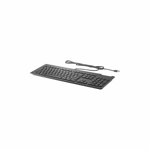 HP klávesnice slim SmartCard CCID USB, černá