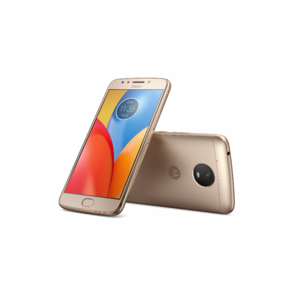 "Motorola Moto E Plus Dual SIM/5,5"" IPS/1280x720/Quad-Core/1,3GHz/3GB/16GB/13Mpx/LTE/Android 7.0/Fine Gold"