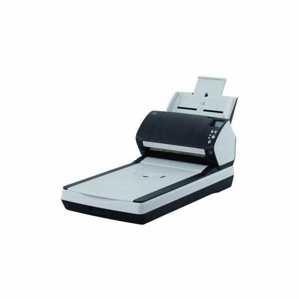 Fujitsu fi-7260, A4, duplex, 120 ipm, color, flatbed, USB 3.0, ultrazvuk, ADF 80