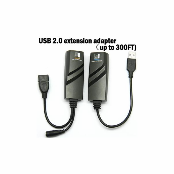 PremiumCord USB 2.0 extender po Cat5/Cat5e/Cat6 do 100m