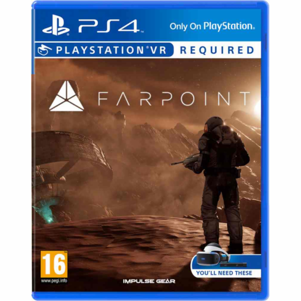 SONY PS4 hra Farpoint VR
