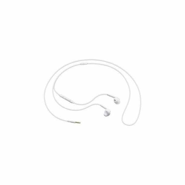 Samsung sluchátková sada stereo s ovládáním EO-EG920B, konektor 3,5 mm, bílá
