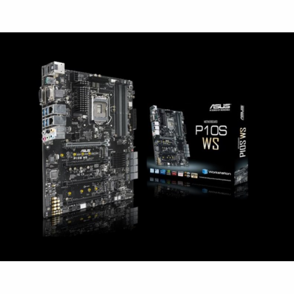ASUS MB Sc LGA1151 P10S WS, Intel Z170, 4xDDR4, VGA