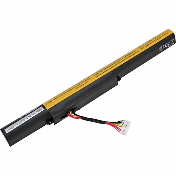 Baterie T6 power Lenovo IdeaPad Z500, Z510, Z500 Touch, Z400, Z410 Touch, P500, 4cell, 2600mAh