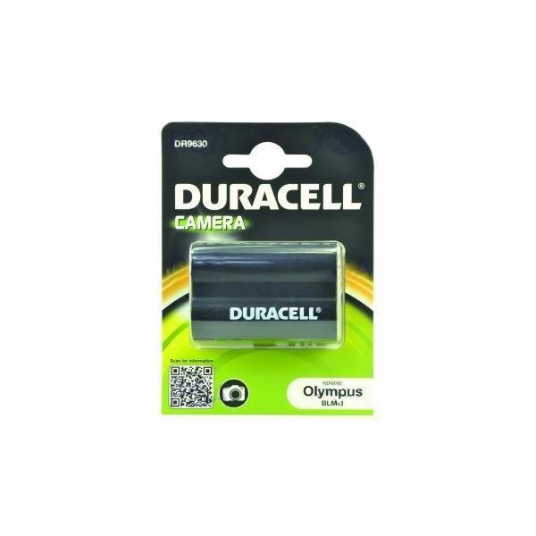 DURACELL Baterie - DR9630 pro Olympus BLM-1, černá, 1400 mAh, 7.4V