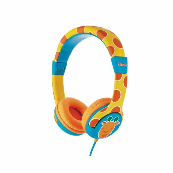 Trust Spila Kids Headphone - giraffe
