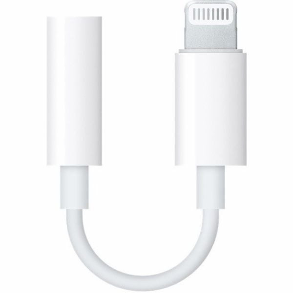 MMX62ZM/A iPhone Original Lightning/3,5mm Datový Kabel White (Bulk)
