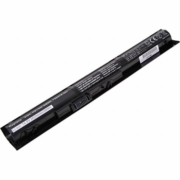 Baterie T6 power HP ProBook 440 G2, 445 G2, 450 G2, 455 G2, VI04XL, 4cell, 2600mAh