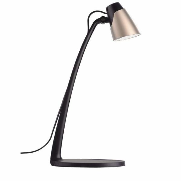 Emos LED stolní lampa Glory, 4.5W, 300 lm, šampaň
