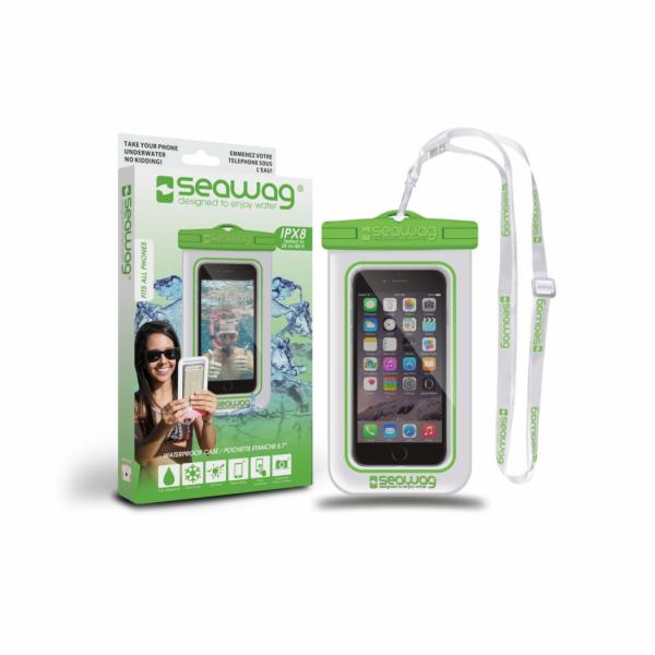 SEAWAG Voděodolné pouzdro pro telefon Bílá/Zelená