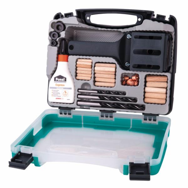 Univerzální box na dřevěné kolíky Wolfcraft 4645000